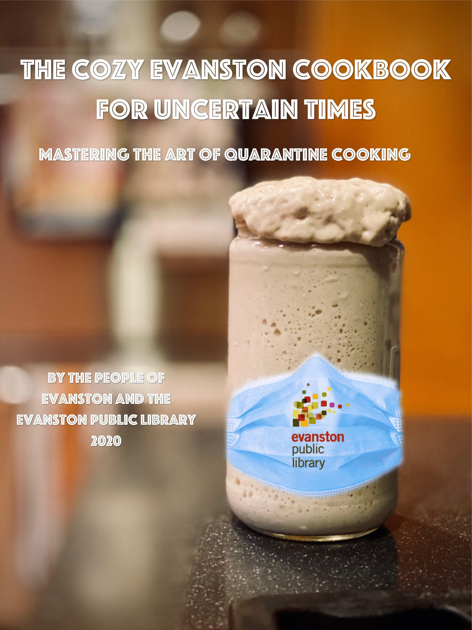Cover image for The Cozy Evanston Cookbook for Uncertain Times